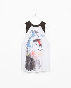 ZARA - WOMAN - PRINTED T-SHIRT