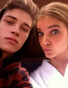 Barbara Palvin and her BF♡... you're welcome Niall/Narry girls 》More is a great time to be DANCIN ON THE CEILIN!