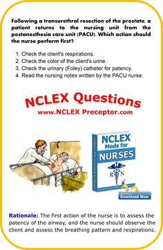 Bonus nursing practice NCLEX questions for registered nurses. Nclex Questions, Nursing Questions, Medical Questions, Nursing Books, Nursing Tips, Nursing Students, Nursing Schools, Nursing Online, Nursing Information