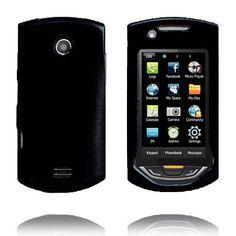 Hard Shell Snap-On (Sort) Samsung S5620 Monte Deksel