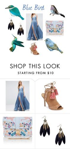 """Blue Bird"" by beatefeick on Polyvore featuring Mode, ASOS, Sam Edelman und Monsoon"