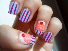 Giovy1407 - Beauty&Nails - Bellezza a portata di...unghie!: Cupcake Nail Art
