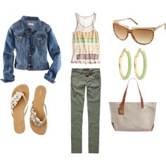 weekend shopping, created by jillgadell.polyvore.com