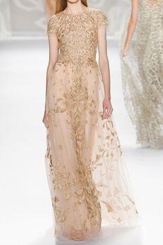 Monique Lhuillier Spring 2014 Couture
