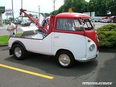 Too cute! Volkswagen Bus, Vw T1 Camper, Campers, Combi Ww, Vw Wagon, Combi Split, Vw Pickup, Car Workshop, Beach Buggy