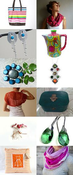 Bright is Right by Julia from Fibernique on Etsy--Pinned with TreasuryPin.com