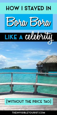 I discovered a little trick that allowed me to stay in Bora Bora like a celebrity. Stay longer, enjoy an overwater bungalow for half the price you'd expect - no catch!