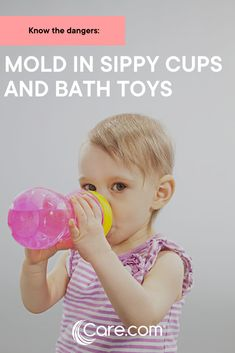 While the thought of mold growing inside your little one's cup or bath toys is, well, gross, try not to get too down on yourself, because it sneaks up on good parents everywhere. Is this common fungus dangerous to your little one? Here's what the experts have to say about mold in your child's toys and sippy cups. #blackmold #childsafety Sippy Cups, Take Apart, Parent Resources, Bath Toys, Child Safety, Parenting Advice, Your Child, Kids Toys, Parents