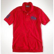 polo ralph lauren uomo no.3 dual match in rosso.Camicia di Ralph Lauren POLO, con grande colore rosso dà senso visiva primaria che è molto potente. Come è possibile contattare:Annapolo888@gmail.com