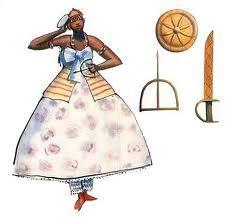Obá Obá é um orixá ligado à água, guerreira e pouco feminina. As suas roupas são vermelhas e brancas, usa um escudo, uma espada e uma coroa de cobre. Cores: Marron, Vermelho e Amarelo Símbolos: Ofange (espada) e Escudo de Cobre, Ofá (arco e flecha) Elementos: Fogo e Águas Revoltas