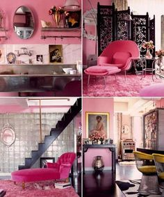 Pink, Betsey Johnson's NYC penthouse