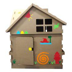 Big Toy Casa Adesivada Meninos  | iBacana