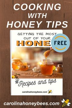 Tips and recipes for those of you who love cooking with honey. #carolinahoneybees #cookingwithhoney Eating Raw, Healthy Eating, Cooking With Honey, My Honey, Honey Recipes, Free Food, Tips, Healthy Foods, Healthy Eating Tips