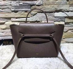 celine mini belt bag dark taupe 2016 celine handbags