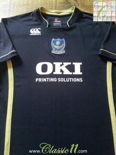 b34dfd73410 2007 08 Portsmouth 3rd Football Shirt (L). Vintage Football ShirtsClassic  ...