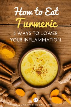 Curcumin (found in turmeric) is among the most effective anti-inflammatory compounds in the world! Learn how to eat turmeric 3 different ways to naturally reduce pain, inflammation, and receive all the antioxidant benefits of this superfood. Curcumin Benefits, Turmeric Health Benefits, How To Eat Turmeric, Turmeric Tea, Milk Recipes, Real Food Recipes, Superfood, Anti Oxidant Foods, Turmeric Recipes