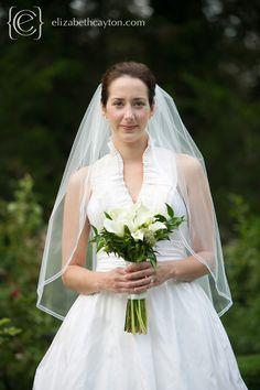 classic & timeless bridal portraits. copyright elizabeth cayton photography