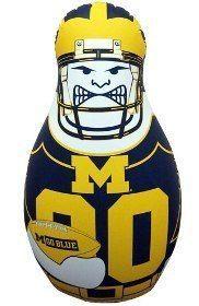 Michigan Wolverines Tackle Buddy Punching Bag Z157-2324557540
