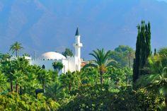 Marbella, Spain. Milla de Oro. Mezquita árabe del Rey Abdul Aziz Al-Saud