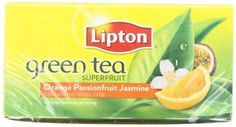 Lipton Green Tea Orange Passionfruit  Jasmine 20 Count Box -- You can get additional details at the image link.