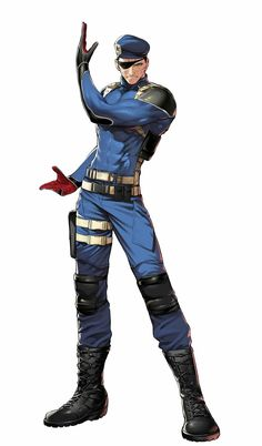 Heidern - The King Of Fighters: A New Beginning Snk Games, Comic Games, Snk King Of Fighters, Overwatch Drawings, Beat Em Up, Male Poses, Video Game Characters, Fighting Games, Mobile Legends