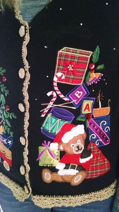 Ugly Sweater Contestent / Size M / Bust Chest 35  by MichigansMom