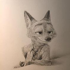 Drawing Nick so Nice!! :)