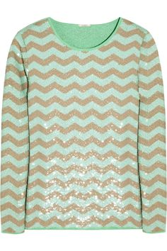 chevron and sequins... obsessed!