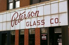 Peterson Glass, Chicago