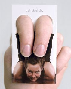 Fun creative business cards!  Love these ideas