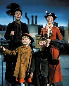 Mary Poppins - very cute movie!  Love Julie Andrews and Dick Van Dyke  (Released 08/27/1964)