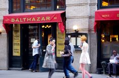 Cafe Balthazar in New York. Photo by alphacityguides. #travel #Guideto