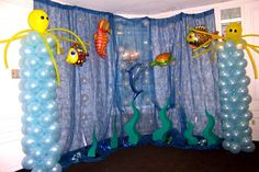under water decorations... might be to much or to big for our dinning hall
