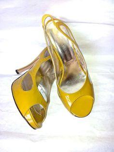 GEORGINA GOODMAN anni '90 sandali in pelle di SHOPPINGbeGOOD