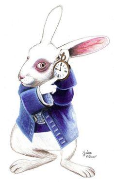 ALICE IN WONDERLAND~ White Rabbit Art | xiaolindesign | Page 3