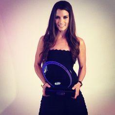 The fans have spoken! Danica Patrick won #NASCAR Nationwide Series' Most Popular Driver! #GoDaddyRacing