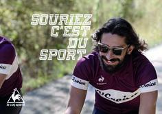 Souriez c'est du sport Photo: C-reel.com #cycling #bicycle #eroica #lecoqsportif