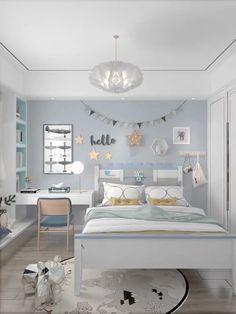Small Room Design Bedroom, Small House Interior Design, Girl Bedroom Designs, Bedroom Furniture Design, Room Ideas Bedroom, Home Room Design, Stylish Bedroom, House Rooms, Room Interior