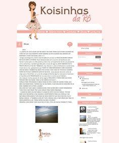 Cantinho do blog Layouts e Templates para Blogger: Encomenda entregue Koizinhas da Rô