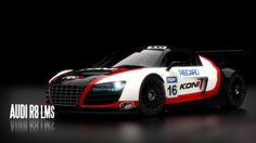 Amazing AUDI R8 LMS Widescreen Backgrounds