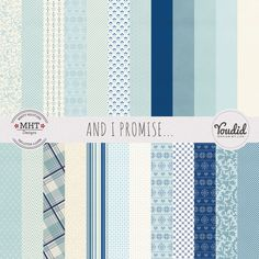 FREEFreebie Friday: And I Promise 12×12 Digital Paper Pack by MHT