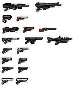 Pixel weapons