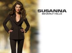 Chocolate brown pant suit - Susanna Beverly Hills Fashion Blog | Classic Haute Couture