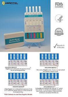 Drug Testing: 10 Pack 10 Panel Drug Testing Kits - Home Or Work Drug Screen - Free Shipping! BUY IT NOW ONLY: $31.34