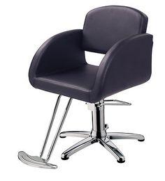 Deco Alba Black Styling Salon Chair | eBay $199