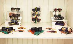 LOOK 1 - Barton Perreira Opening Ceremony Exclusive Bronski Sunglasses $370.00   LOOK 2 - Prism Portofino Mirror Lens Sungalsses $425.00  LOOK 3 - Sunpocket Opening Ceremony Excuslive Gold-Plated Lens Sunglasses $195.00