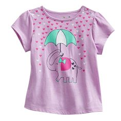 e060a98f1b Jumping Beans Elephant Babydoll Tee - Baby Toddler Girl Style