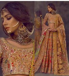 Super Ideas For Punjabi Bridal Lengha Beautiful Dresses Pakistani Wedding Outfits, Pakistani Bridal, Pakistani Couture, Bridal Outfits, Bridal Lehenga, Pakistani Dresses, Indian Dresses, Indian Outfits, Bridal Dresses
