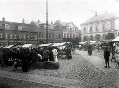 Slagteboder på Hjultorvet, Viborg, år 1910-1919