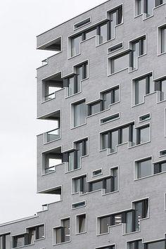 Südpark Basel Retirement home by Herzog & de Meuron